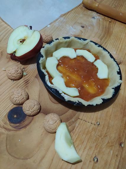 crostata amaretti e mela 2jpg